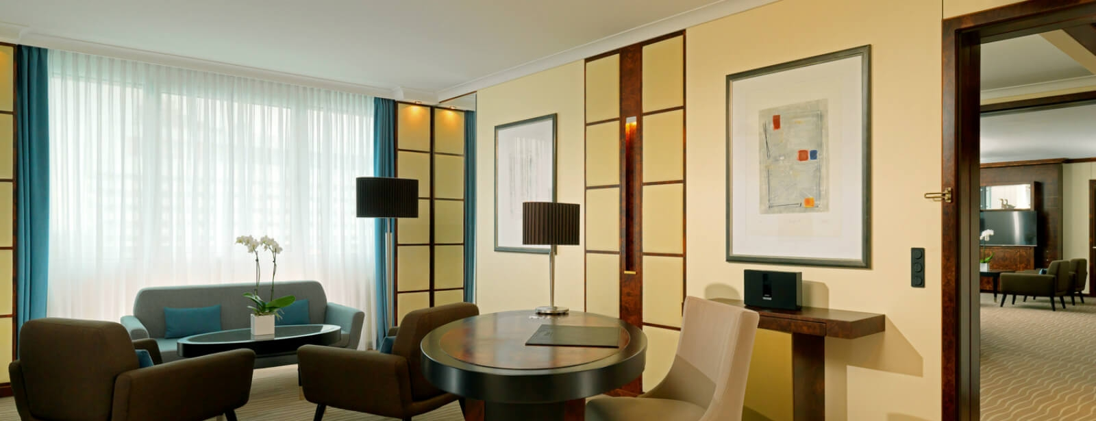 Living Room of the Westin Suite at the Westin Grand Munich